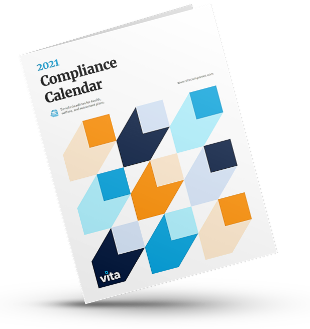 Vita's compliance calendar